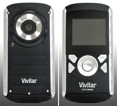 Vivitar 690HD Pocket Cam (Images courtesy Vivitar)