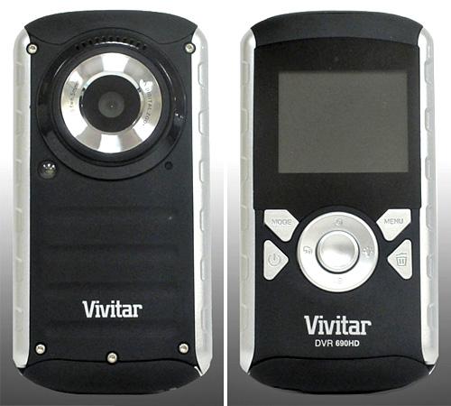 Vivitar 690HD Pocket Cam (Images courtesy Vivitar)
