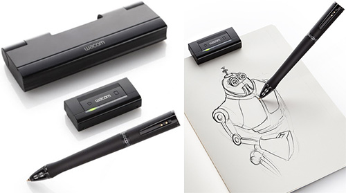 Wacom Inkling Digital Sketch Pen (Images courtesy Wacom)