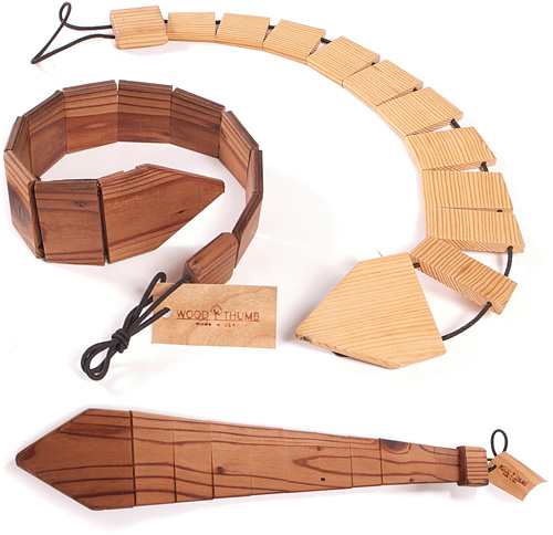 Wood Ties (Images courtesy The Green Head)