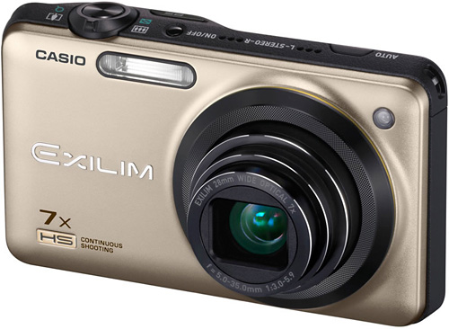 Casio Exilim EX-ZR15 (Image courtesy Casio Japan)