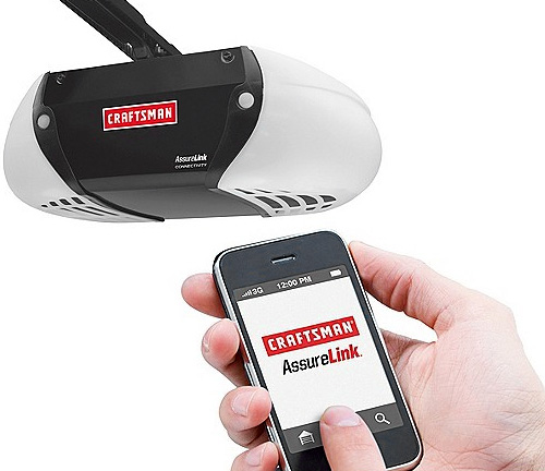 Craftsman AssureLink Chain Drive Garage Door Opener (Images courtesy Craftsman)