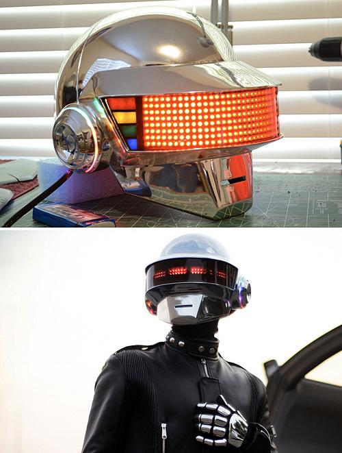 Daft Punk (Thomas Bangalter) Helmet (Images courtesy Volpin Props)