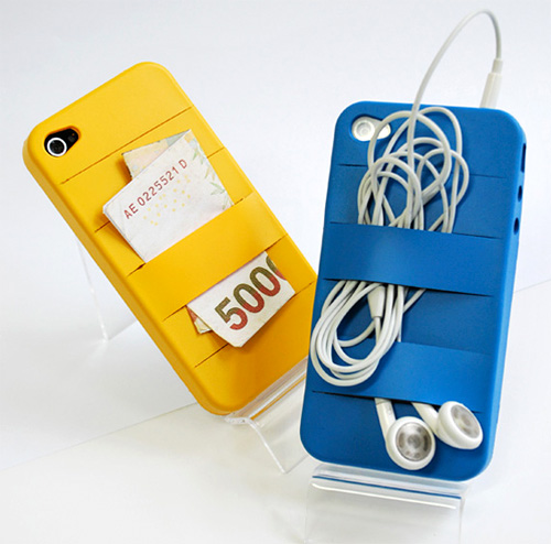 Elasty iPhone Case (Image courtesy Yanko Design)