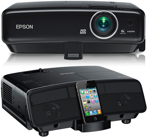 Epson Megaplex MG-850HD Projector (Images courtesy Epson)