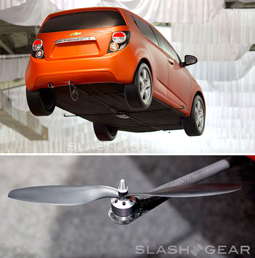RC Chevy Sonic (Images courtesy SlashGear)