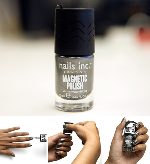 Magnetic Nail Polish (Images courtesy Nails Inc.)