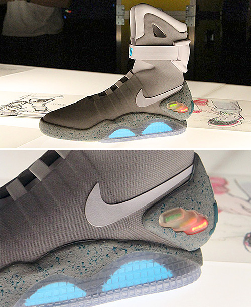 Nike Air Mag Sneakers (Images courtesy Highsnobiety)