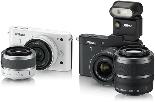Nikon J1 & V1 (Images courtesy Nikon)