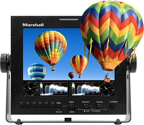 Marshall ORCHID OR-70-3D Field Monitor (Image courtesy Marshall)