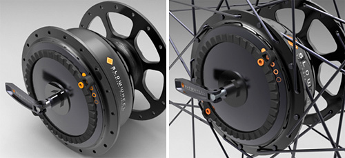 PowerWheel Bike Wheel (Images courtesy SlowWheel)