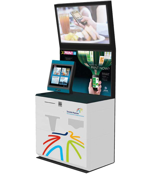 Mobile Printing Kiosks (Image courtesy St. Joseph Communications)