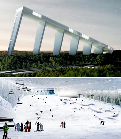 Skipark 360 Indoor Resort (Images courtesy Gizmag)