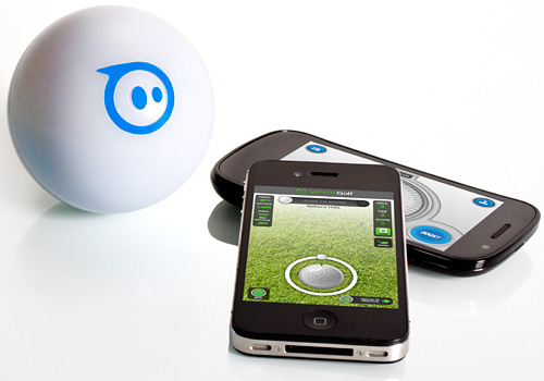 Sphero Finalized Shell (Image courtesy Orbotix)