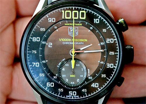 TAG Heuer Mikrotimer Chronograph Concept (Image courtesy Hodinkee)