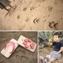 Ashiato Footprint Sandals Let Your Kids Stomp Around Like Animals
