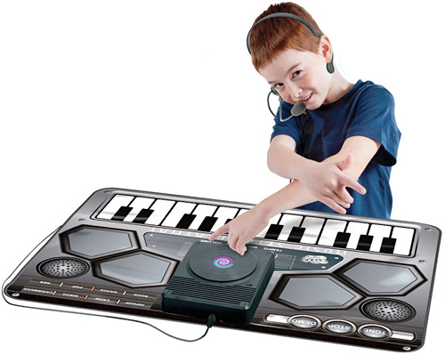 The Children's DJ Station (Image courtesy Hammacher Schlemmer)