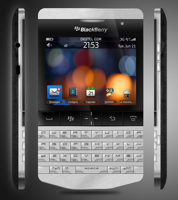 porsche blackberry knight