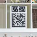 QR Code Clock Will Make It Easier For Our Eventual Robotic Overlords To Tell Time