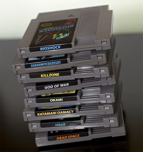 NEStalgia Carts (Image courtesy 72 Pins)