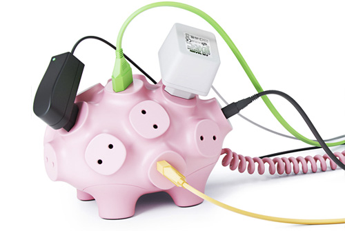 Svintus Power Strip Pig Concept (Image courtesy Art Lebedev)