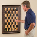 Vertical Chess Set At Home In Mega Mansions