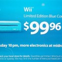 Bring The Helmet And Shoulderpads: Walmart To Sell Blue Wii For $99.96