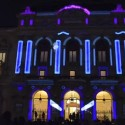 Giant Playable Pinball Machine Projected Onto Building Facade