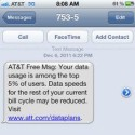 AT&T Will Throttle iPhone Internet Speeds For Heavy Users
