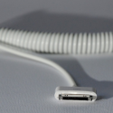 Curly iDevice Charging Cable: Someone Had To Think Of It