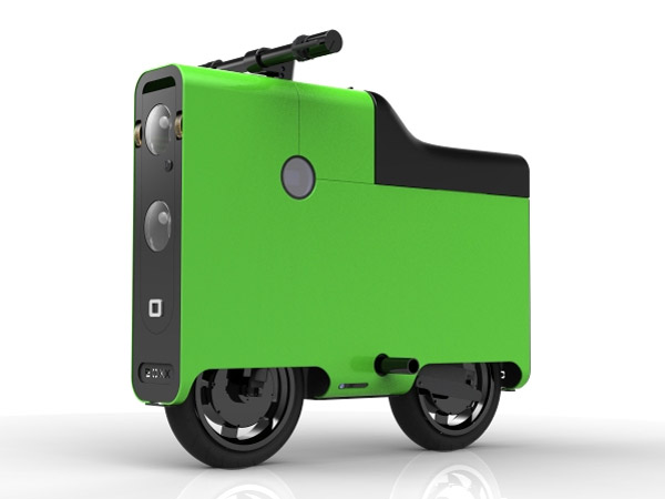 Boxx Electric Bike Looks Like A Suitcase Seems Really