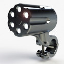 Gotham Bike Light Is Nearly Impossible To Steal, Looks Like A <strike>Gun Barrel</strike> Revolver&#8217;s Cylinder