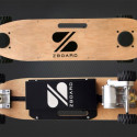 ZBoard Electric Skateboard Doesn't Need Handheld Controller