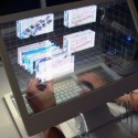 Is The Future This See-Through 3D Desktop?