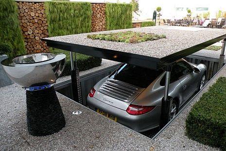 Garasi Bawah Tanah, solusi baru penyempitan ruangan rumah !