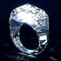 This Ring Is Carved Straight Out Of A Diamond — 150 Carats' Worth