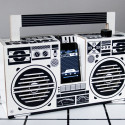 The Berlin Boombox Ia Made Of Cardboard, Is Eco-Friendly