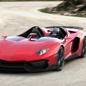 Lamborghini Aventador J Drops The Roof, And Windshield, And All Pretense Of Restraint