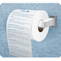 Shi**er Prints A Twitter Feed Onto A Roll Of Toilet Paper