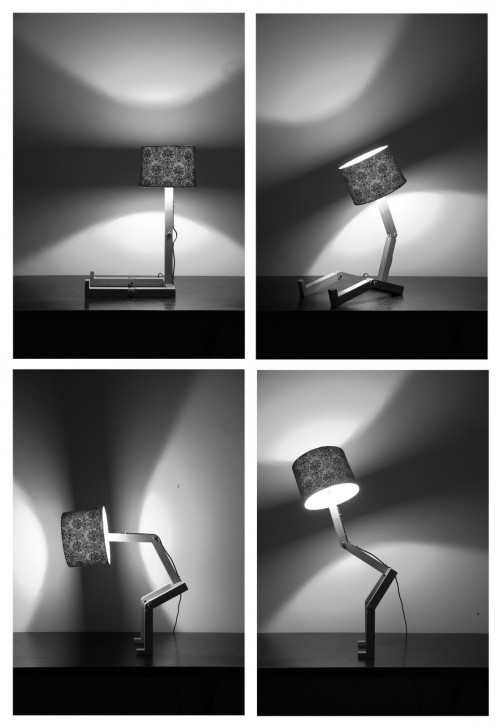 Sitting Lamp Can Also Stand