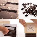 Upscale Typography Edition Game Of Scrabble Will Ship In August