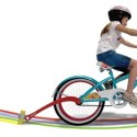 The Chalktrail Bike Attachment For Kids Is Sure To Pretty Up The Neighbourhood
