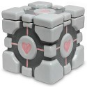 Here's A Portal Weighted Companion Cube Cookie Jar