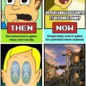 It's Funny: Gaming, Then And Now