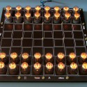 Nixie Tube Chess Board Looks Old-Timey, Super Awesome