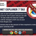 "Web Retailer Imposes ""Internet Explorer 7 Tax"""