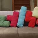 Tetris Cushions Feature The Entire Family, Even Straight Line