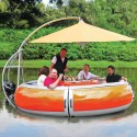 BBQ Dining Boat Seems Perfect For Summer, And Breaking The Bank