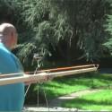 German Slingshot Guy Creates Awesome Throwing Knife Crossbow Gun Thing