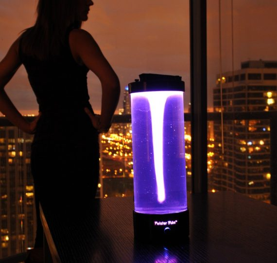Twister Tube Is A Modern Lava Lamp… Without The Lava | OhGizmo!